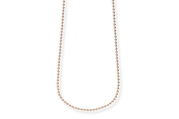 Blumenkind Halskette SC073R90 aus 316L Edelstahl - 90 cm