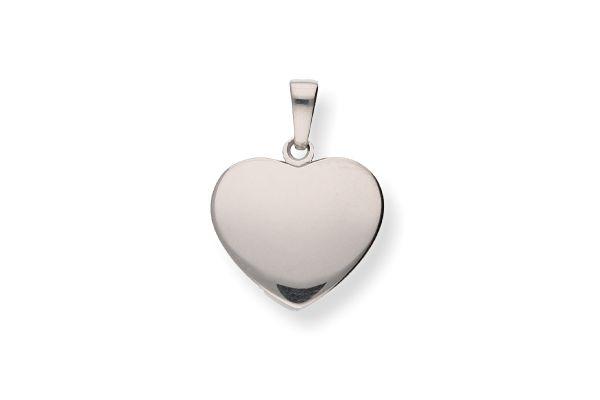 935 Silber Herz Anhänger