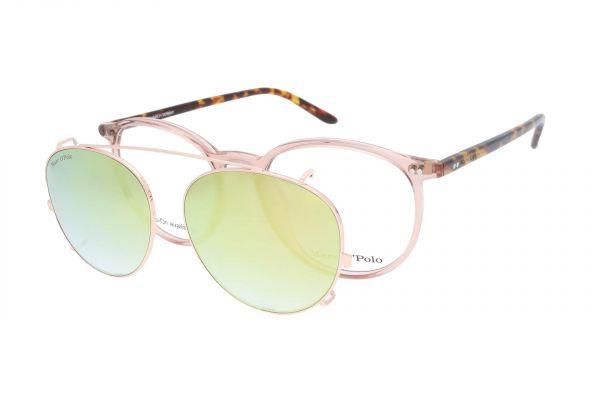Marc O'Polo Brille mit Aufsteck-Sonnenclip 503084 55