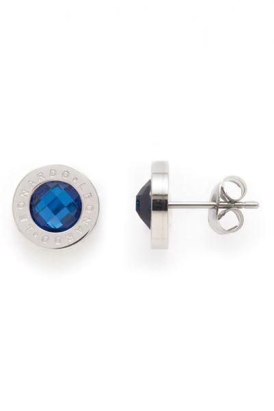 Leonardo Ohrstecker Matrix Blau 013986