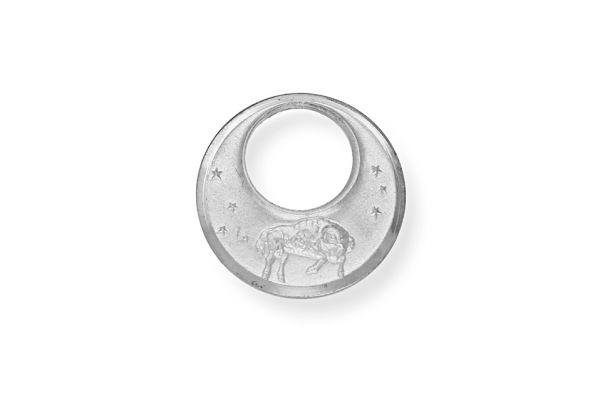 Sternzeichen Widder - Anhänger 925 Silber