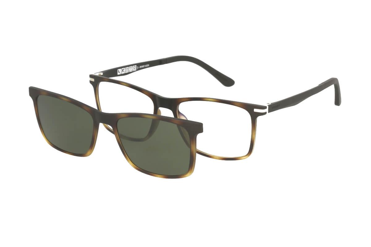 Solano Brille CL90071 E mit polarisiertem Magnet Sonnenclip