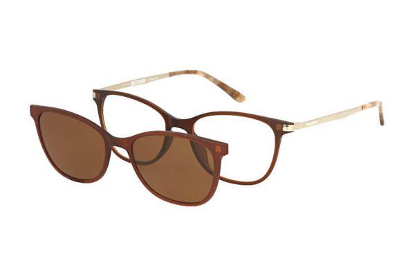 Solano Brille CL90101 C mit polarisiertem Magnet Sonnenclip