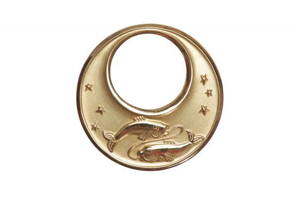 Sternzeichen Fische - Anhänger 333 Gold