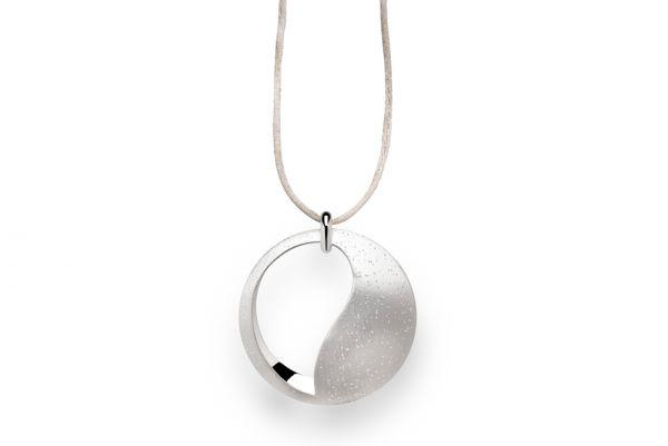 Bastian Anhänger 925 Silber Diamantiert