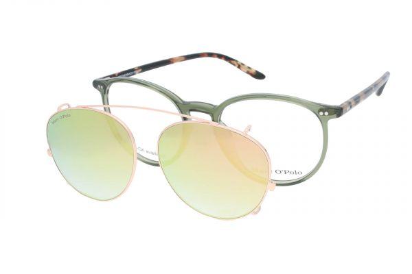 Humphrey's Brille mit Sonnenclip 503084 46