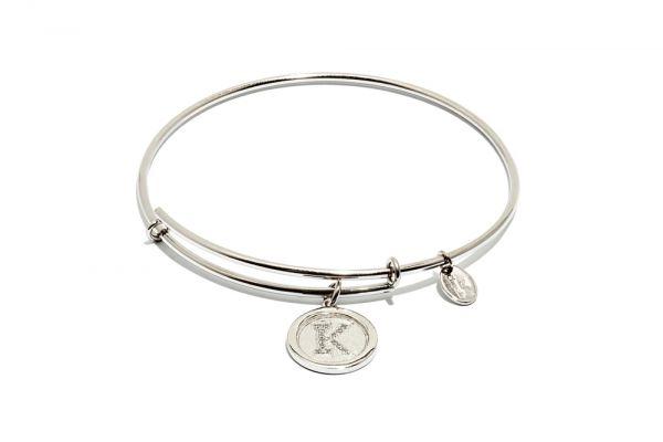 Chrysalis Bangle Initials - Silber K