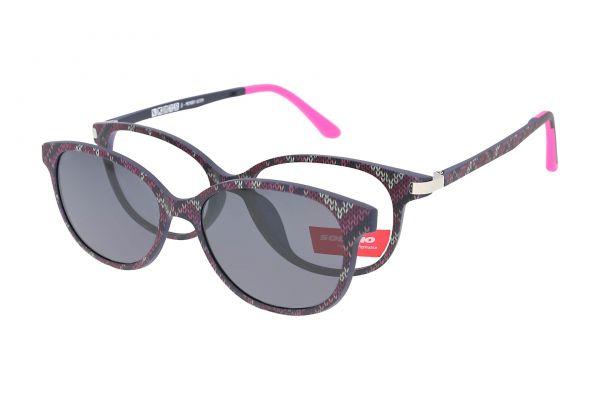 Solano Brille CL90062 G mit polarisiertem Magnet Sonnenclip