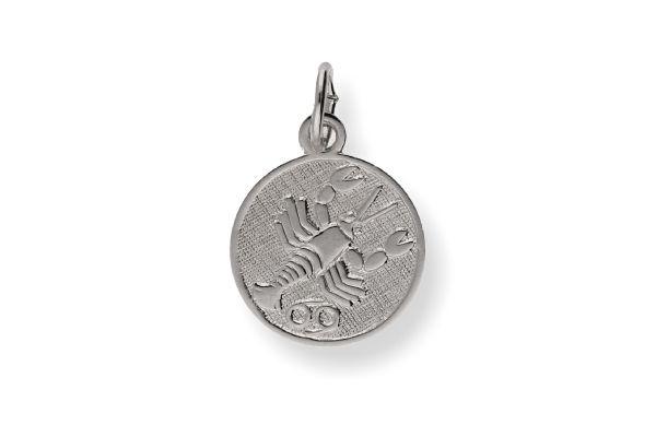 Sternzeichen Krebs - Anhänger 925 Silber