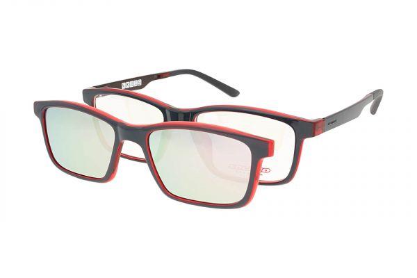 Solano Brille CL50020 C mit polarisiertem Magnet Sonnenclip