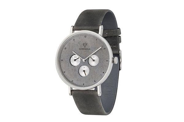 Kerbholz Uhr Caspar Urban Slate