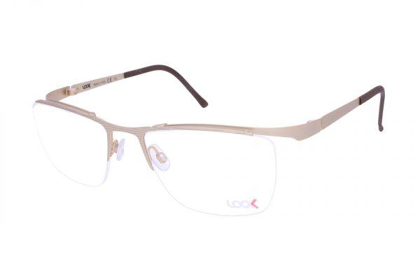 Sportlich gebogene LOOK Brille 10443 M2