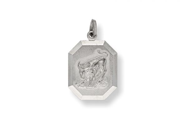 Sternzeichen Stier - Anhänger 925 Silber
