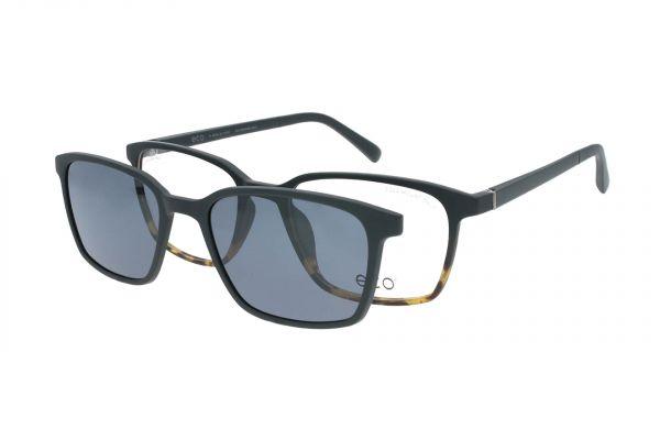 ECO Brille Kasai BLKG mit Magnet-Sonnenclip