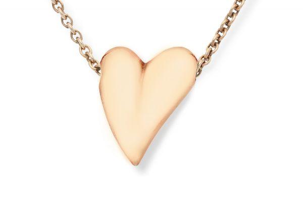 Bastian Anhänger Herz 925 Silber rosévergoldet - 11469