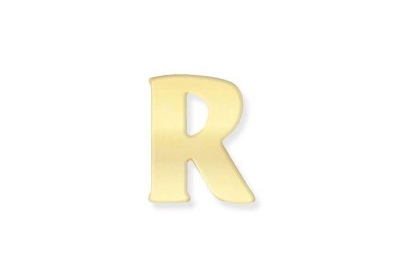 333 Gold Anhänger Buchstabe R