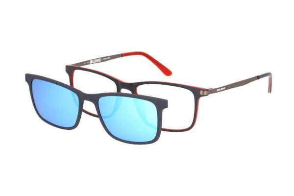 Solano Brille CL90103 C mit polarisiertem Magnet Sonnenclip