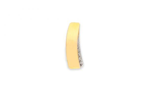 Anhänger 333 Gelbgold • Weißgold • Diamanten