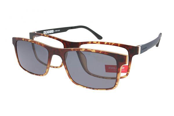 Solano Brille CL90083 E mit polarisiertem Magnet Sonnenclip