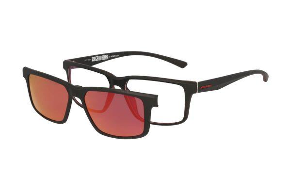 Solano Brille CL30009 C mit polarisiertem Magnet Sonnenclip