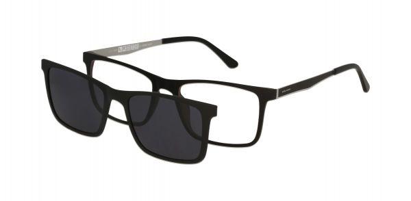 Solano Brille CL90118 D mit polarisiertem Magnet Sonnenclip