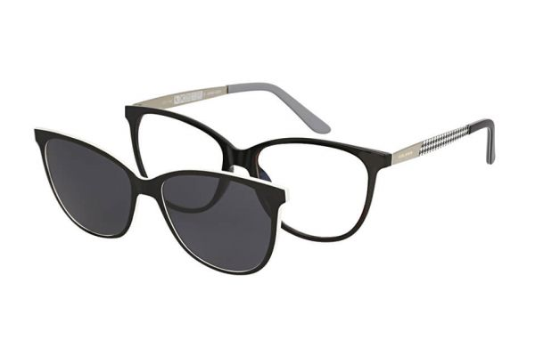 Solano Brille CL90110 B mit polarisiertem Magnet Sonnenclip