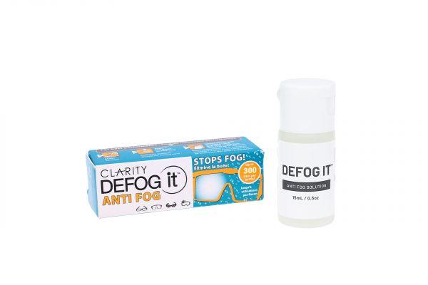 Clarity DEFOG it Solution • Anti-Beschlagmittel für Brillen