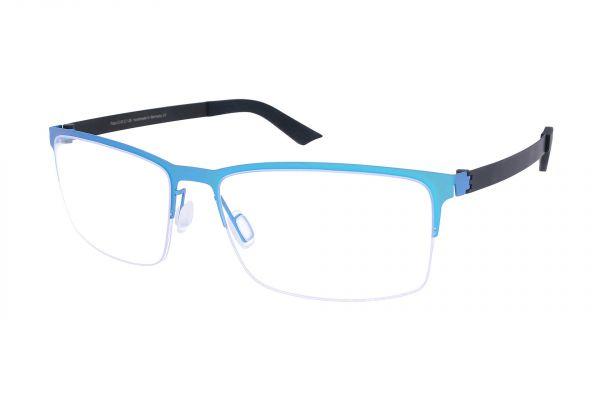 Grafix Brille GX 6112/05 mit leicht gebogenen Gläsern • Titan