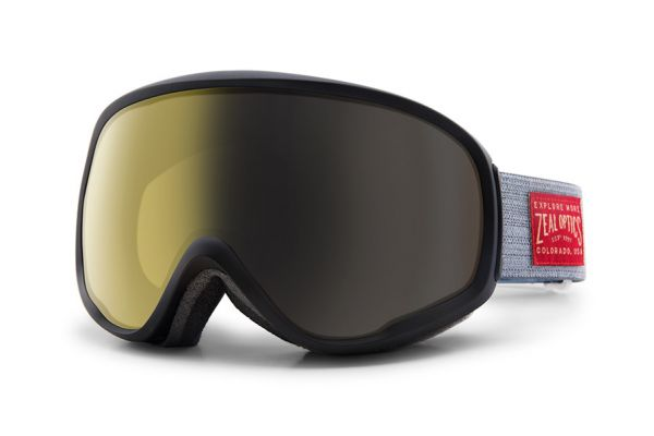 Zeal Skibrille Forecast 11151 Stone Grey - Polarized Automatic+ - Größe M