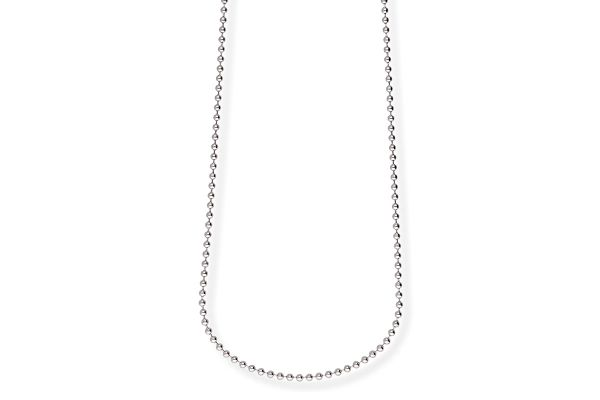 Blumenkind Halskette SC07380 aus 316L Edelstahl - 80 cm