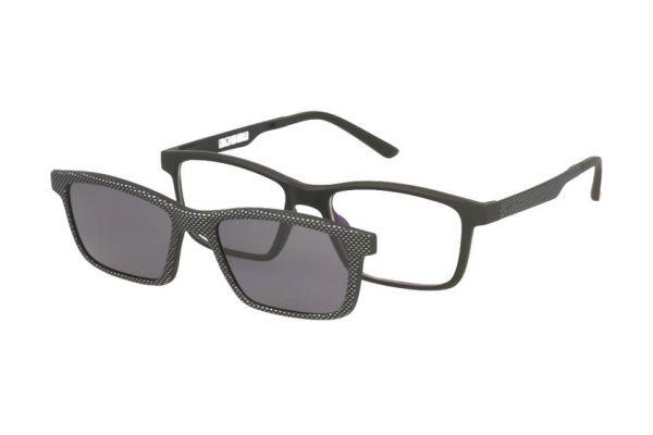 Solano Brille CL50020 F mit polarisiertem Magnet Sonnenclip
