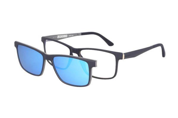 Solano Brille CL90100 E mit polarisiertem Magnet Sonnenclip