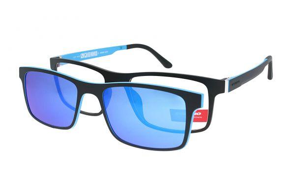 Solano Brille CL90085 C mit polarisiertem Magnet Sonnenclip