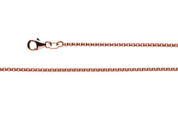 Bastian Collierkette 925 Silber rosévergoldet - 9177584560