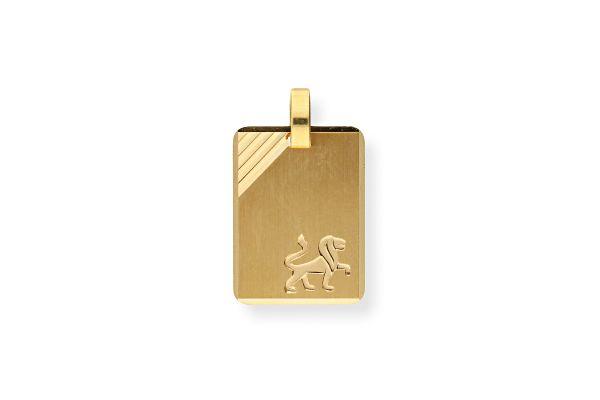 Sternzeichen Löwe - Anhänger 333 Gold