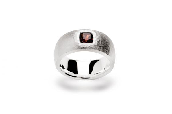 Bastian Ring 925 Silber mit Granat