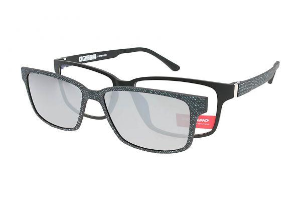 Solano Brille CL90086 B mit polarisiertem Magnet Sonnenclip
