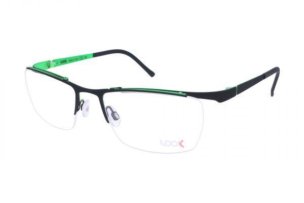 Sportlich gebogene LOOK Brille 10441 9931