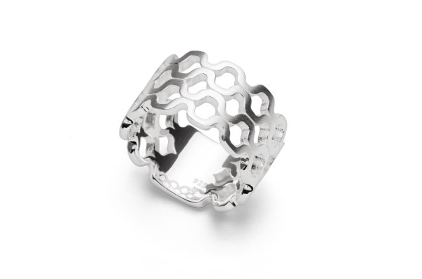 Bastian Ring im Cut-Out Design 925 Silber