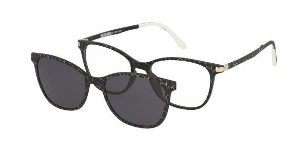 Solano Brille CL90064 F mit polarisiertem Magnet Sonnenclip