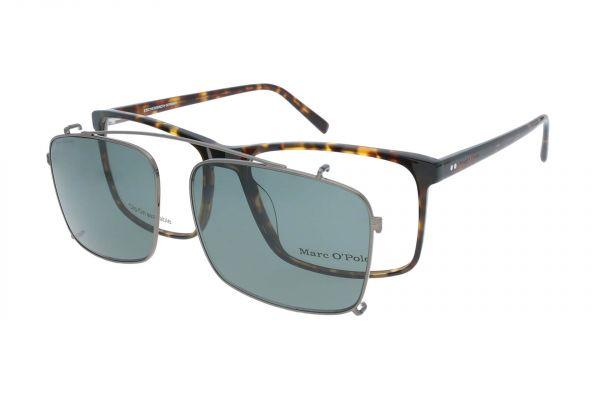 Marc O'Polo Brille mit Aufsteck-Sonnenclip 503157 60