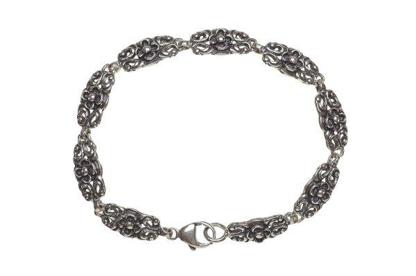 Gerry Eder 925 Silber Trachten Armband 18 cm