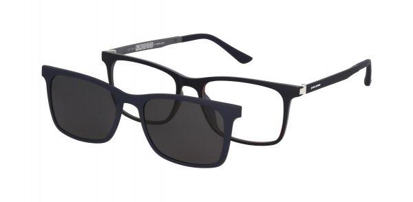 Solano Brille CL90124 C mit polarisiertem Magnet Sonnenclip