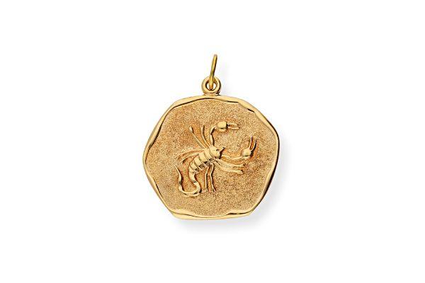 Sternzeichen Skorpion - Anhänger 333 Gold