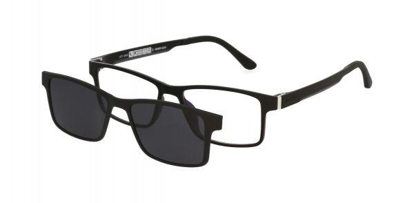 Solano Brille CL90083 G mit polarisiertem Magnet Sonnenclip