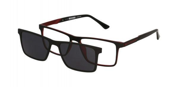 Solano Brille CL90117 D mit polarisiertem Magnet Sonnenclip