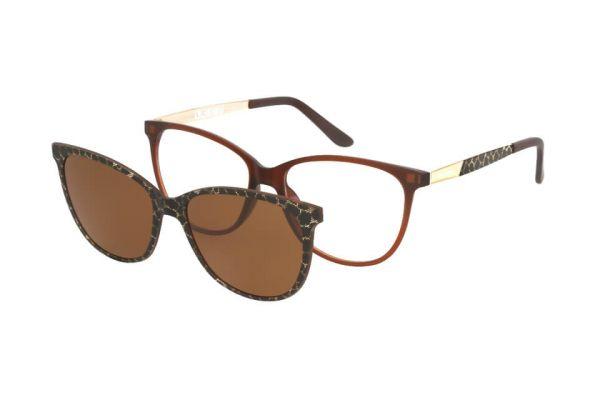 Solano Brille CL90110 C mit polarisiertem Magnet Sonnenclip