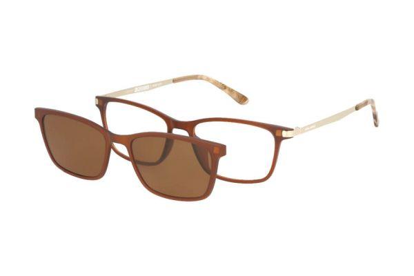 Solano Brille CL90102 C mit polarisiertem Magnet Sonnenclip