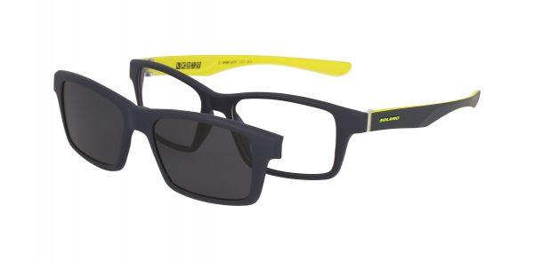 Solano Brille CL30004 E mit polarisiertem Magnet Sonnenclip