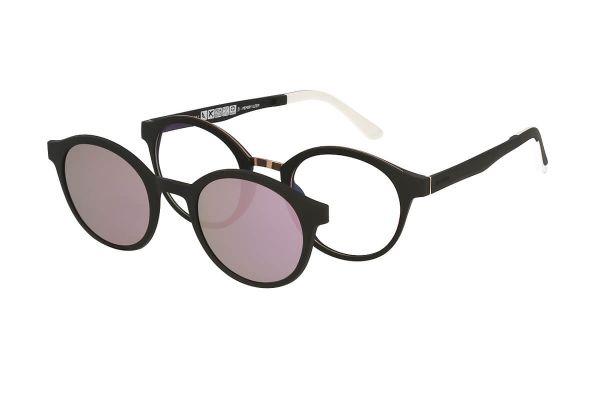 Solano Brille CL90098 D mit polarisiertem Magnet Sonnenclip
